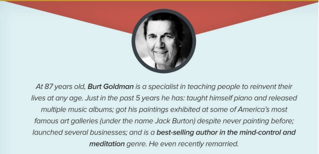 At 87 years old, Burt Goldman taught himself piano and released multiple albums