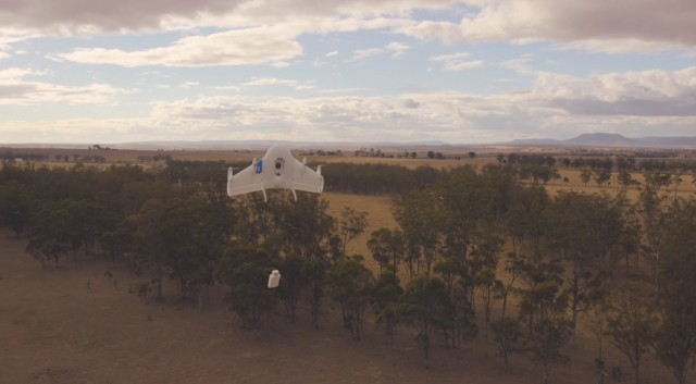 Google X reveals Project Wing, autonomous drones that can deliver things 'in just a minute or two'