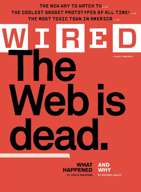 The Web Will Kill Apps