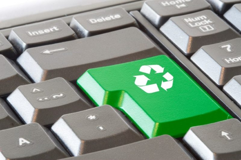 E-recycling-ITAD-process