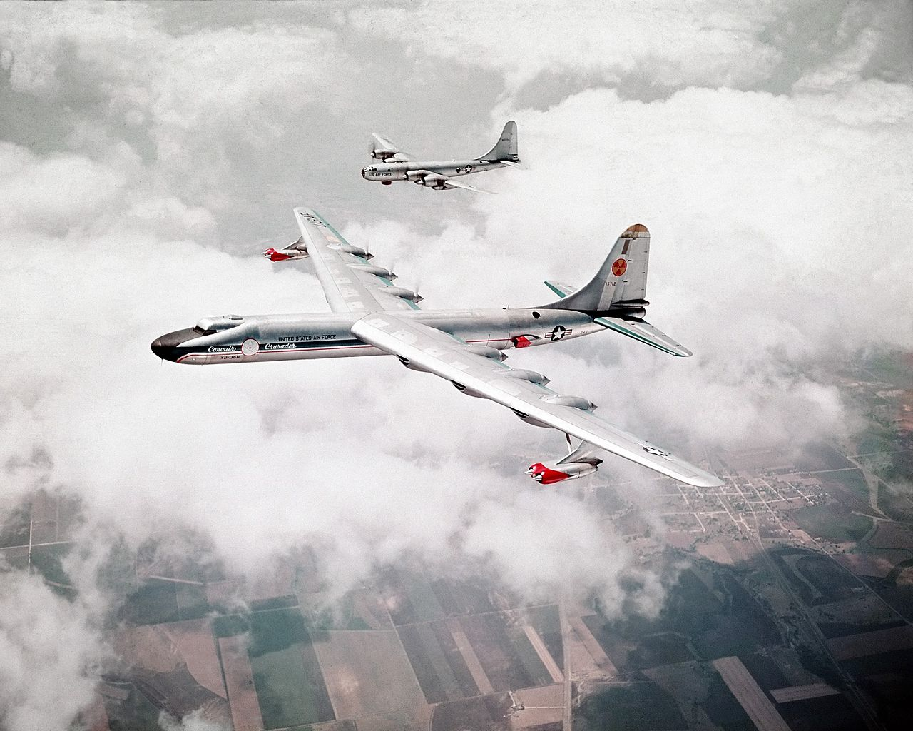 The NB-36H - the only US aircraft to ever carry a nuclear reactor