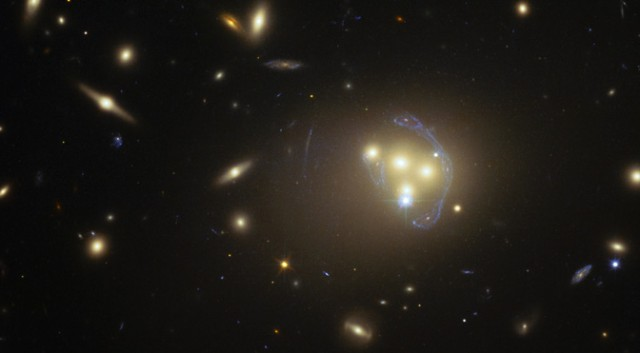 Astronomers: Dark matter may interact with itself