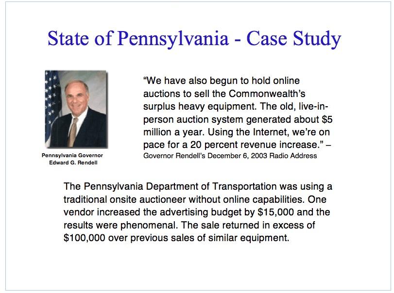 State of Pennsylvania - Case Study