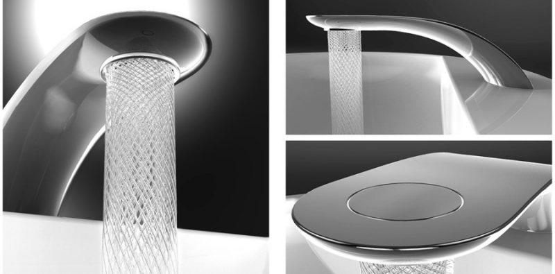 That tap saves water. A brilliant idea won a prestigious design award.