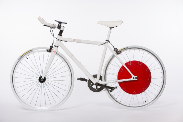 The Copenhagen Wheel turns any bicycle into an electric hybrid