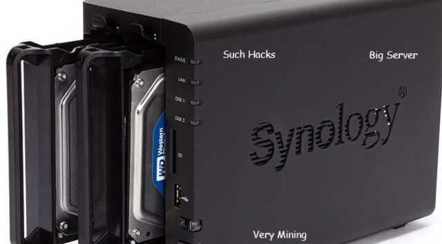 Hacker hijacks thousands of Synology storage devices, forces them to mine 500 million Dogecoins