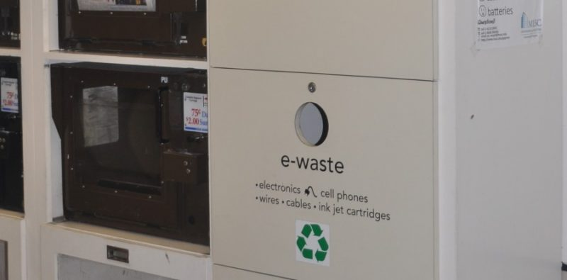 E-Waste recycling in California