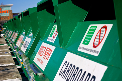 Recycle and cut your waste disposal fee