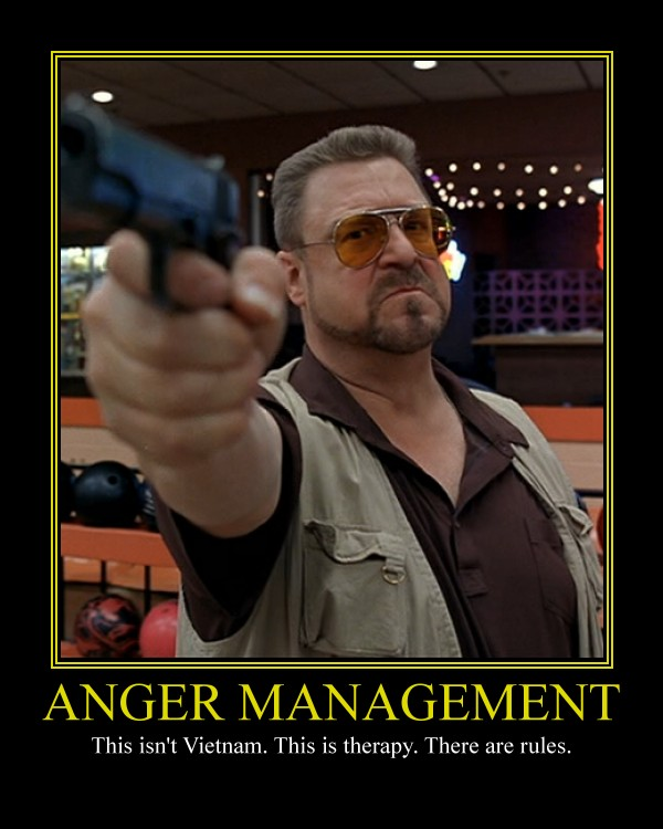 Anger management or 5 simple tricks how to keep calm when something goes wrong