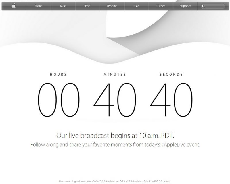 How to watch Apple's iPhone 6 event live stream on Windows and Android