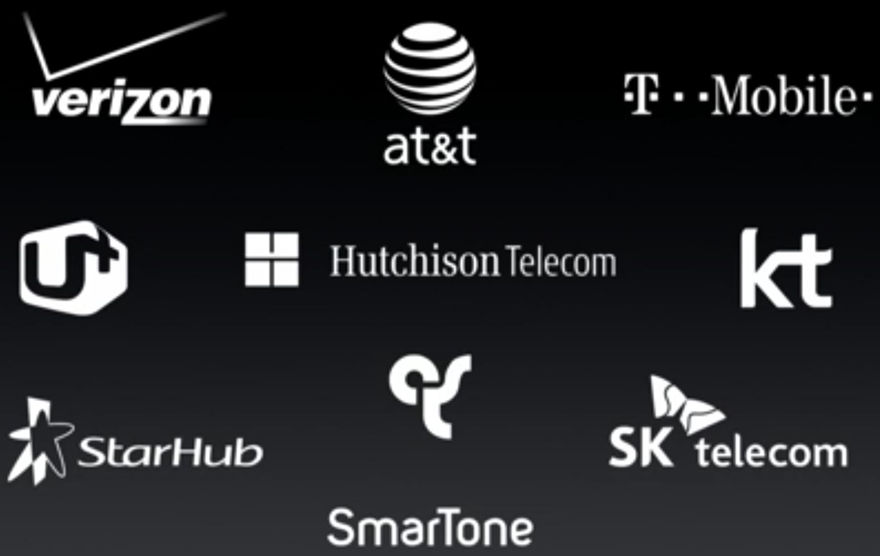 All the mobile operators offering VoLTE on the iPhones at launch