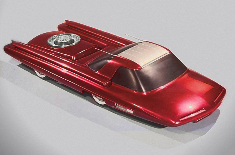 The 1958 Ford Nucleon concept car