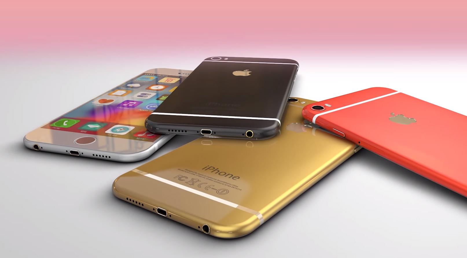 iPhone 6 concept, 3D rendering