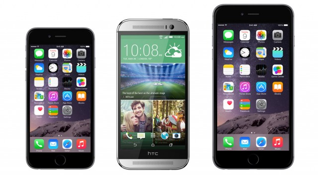 iPhone 6 vs. iPhone 6 Plus vs. HTC One M8 compared: Which one should you buy?