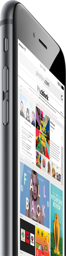 iPhone 6 wireless hero image