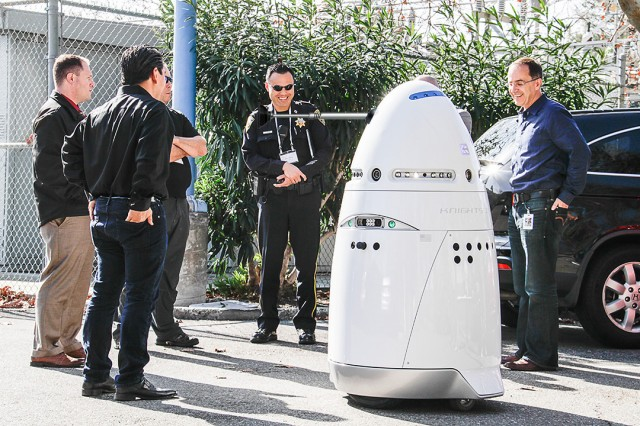 Here come the autonomous robot security guards: What could possibly go wrong?