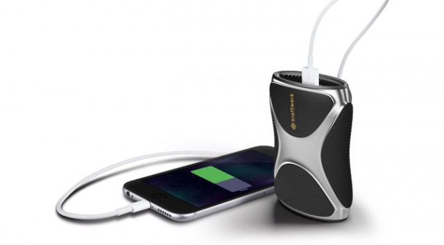Kraftwerk fuel cell will let you charge your phone with gas