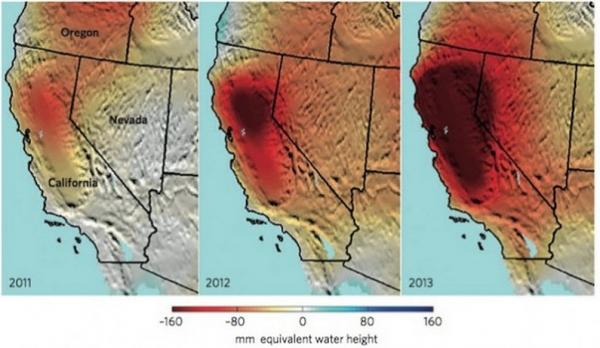 "NASA Scientist Warns ""California Has One Year Of Water Left"""